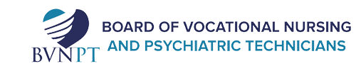 California Board of Vocational Nursing and Psychiatric Technicians